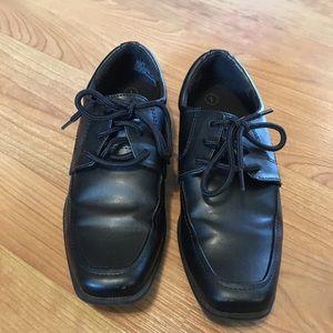 Boy Black Dress Shoe